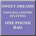 Sweet Dreams 1 lb Bag of Cotton Stuffing